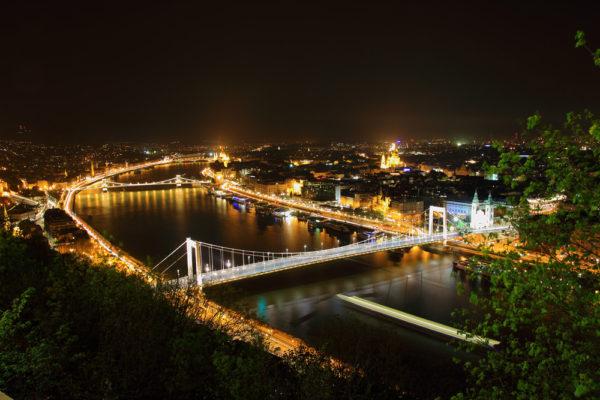 ハンガリー夜景