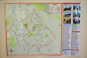 カラコル地図