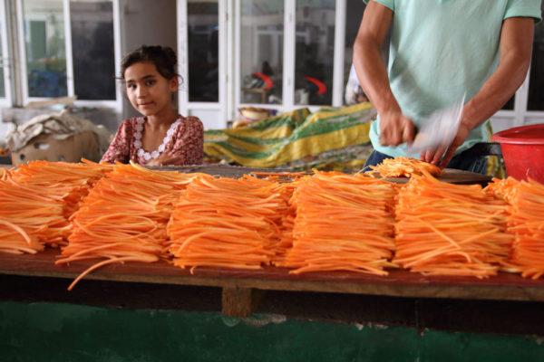 タジキスタン 市場