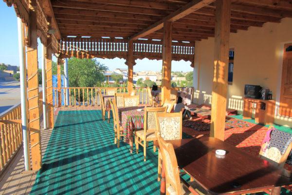 ウズベキスタン 宿