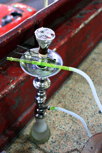 ヨルダン水たばこ