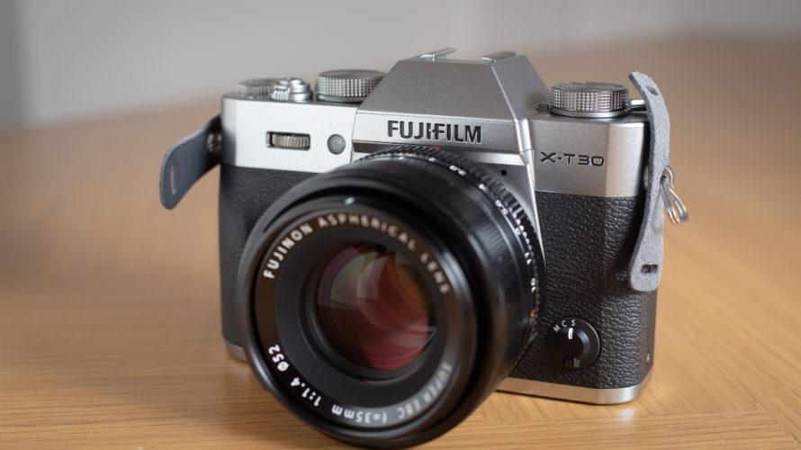 新しいカメラFUJIFILM X-T30を購入しました!