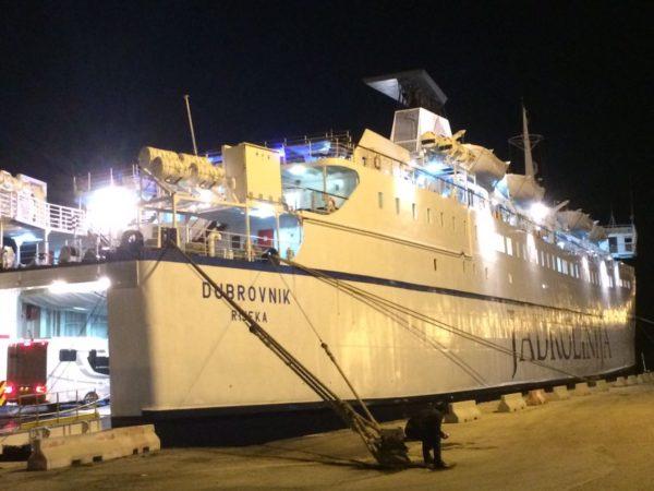 バーリからドゥブロブニクへのフェリーでの行き方@イタリア クロアチア【海外移動情報】